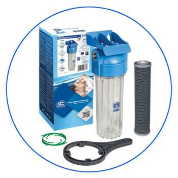 Water Filter Housing with FCCBL-S filter