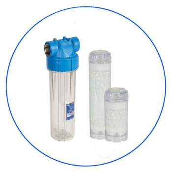 Under-Counter Water Housing 10″ with Softener Filter