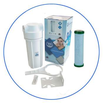 Under-Counter Water Housing With Filter FCPS5-BL-AB Aqua Pure