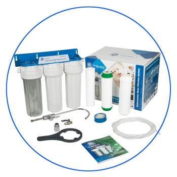 under-counter 4 stage system Aqua Filter FP3-HJ-K1