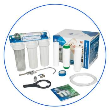 Water Filter 4 Stage under-counter Water System Alkaline 4ST