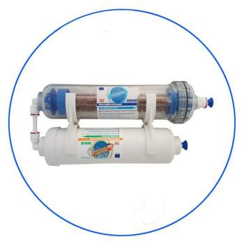 2-Stage In-Line Alkaline 2ST Stage Refrigerant Filter