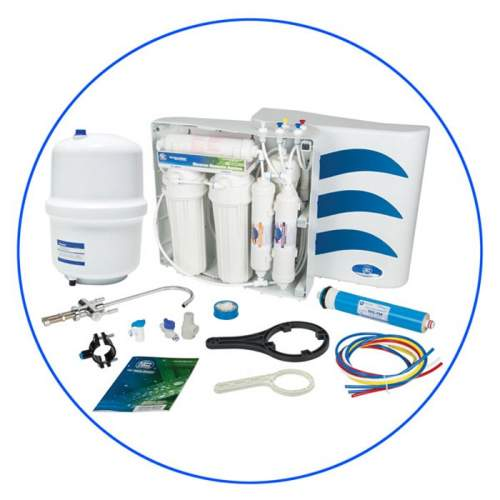 HX-6-001-033  6 Stage Reverse Osmosis Water Filtration System