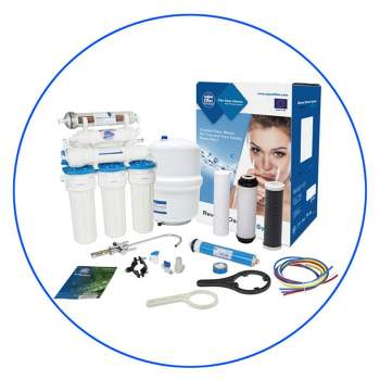 RXX-7-001-024  7 Stage Alkaline Reverse Osmosis Water Filtration System
