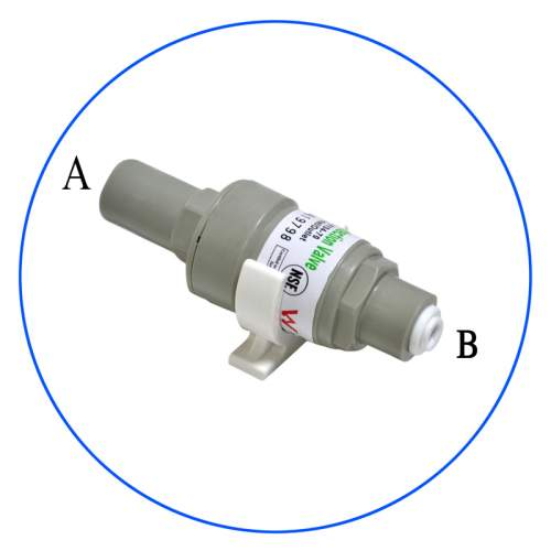 "Pressure Reduction for 1/4 ""Reverse Osmosis Systems PLV-0104-80_K"