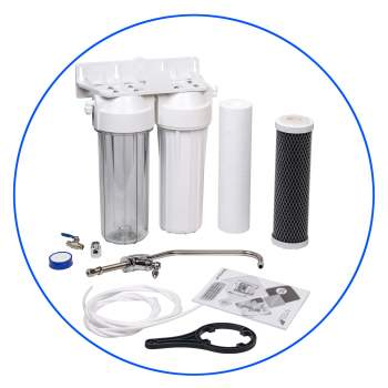 Under-Counter 2 Stage Water Filter System