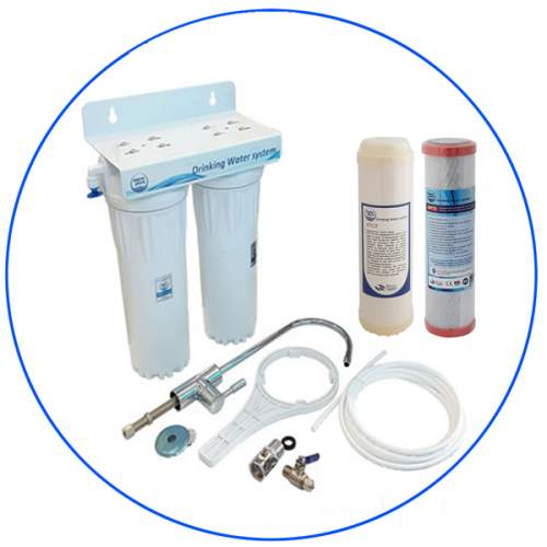 2 stage water filtration system APDUC 14 UFPRO