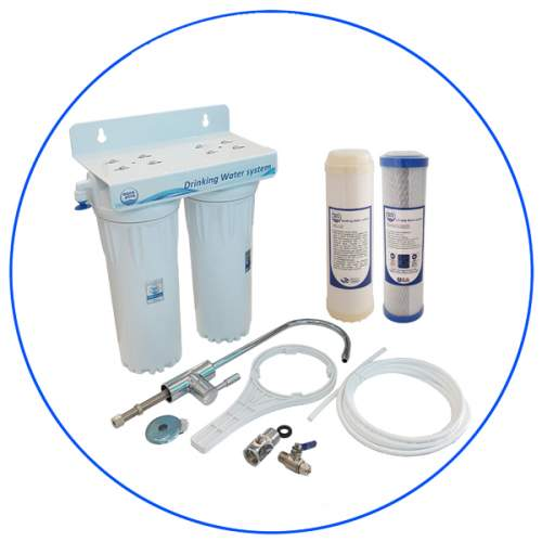 2 Stage Water Filtration system APDUC 14 UFCTO